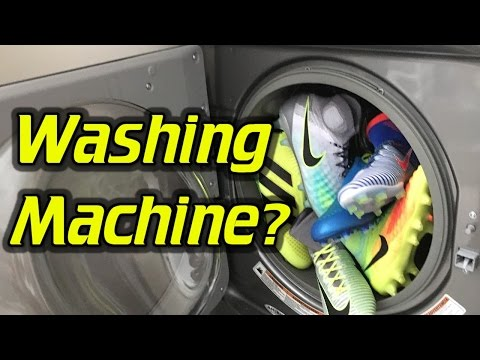 Cleaning Your Soccer Cleats/Football Boots in the Washing Machine - Why It's Not a Good Idea