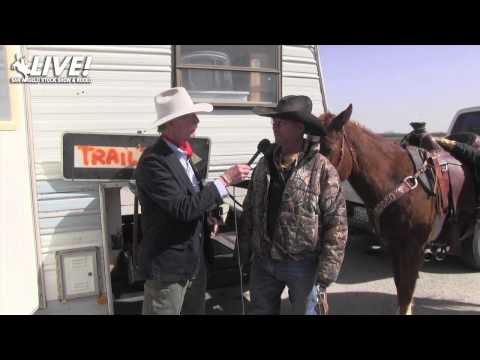 San Angelo Stock Show and Rodeo 2014 - Santa Fe Trail Ride