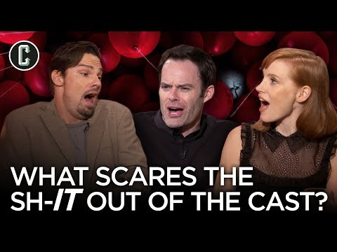 What Scares the Sh-IT out of the It Chapter 2 Cast?