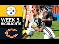 Steelers vs. Bears | NFL Week 3 Game Highlights