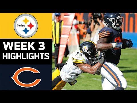 Steelers vs. Bears | NFL Week 3 Game Highlights