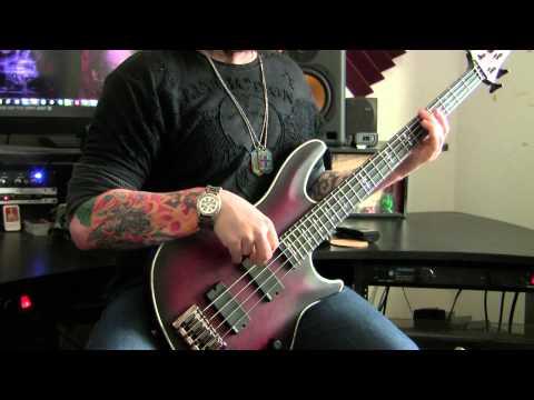 Schecter Hellraiser Extreme Bass - EMG 35P4 / 35J