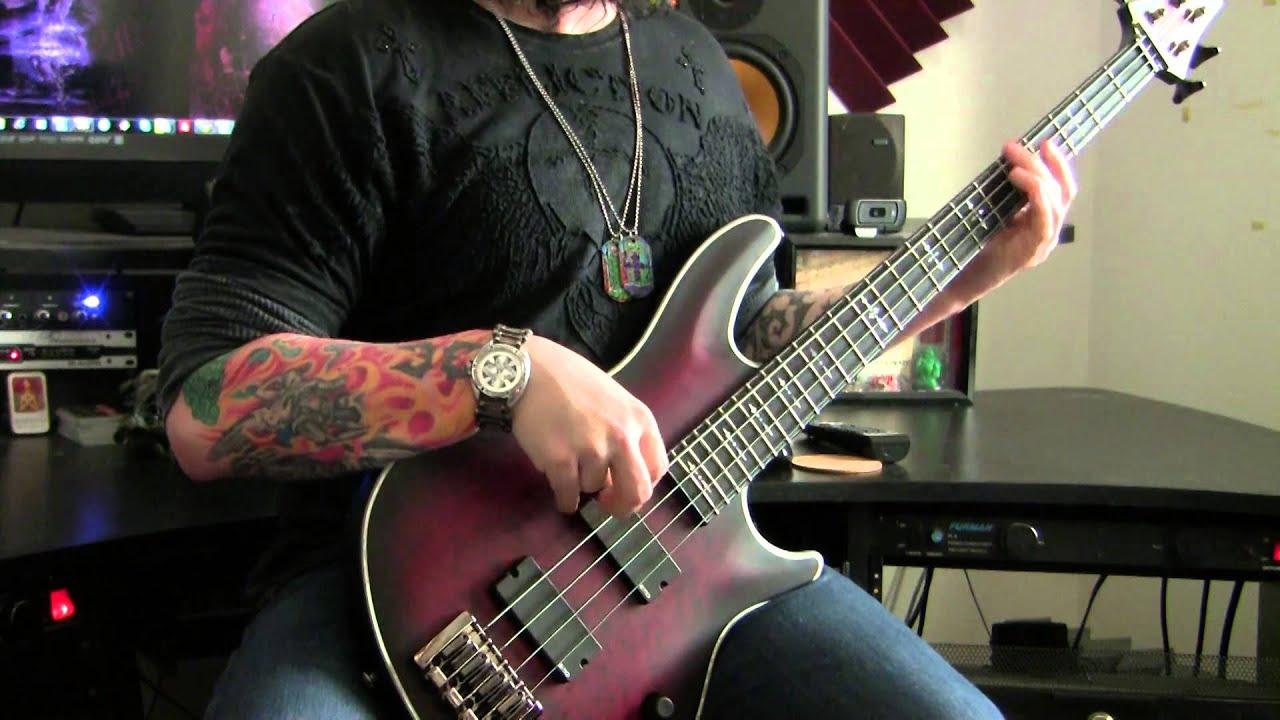 schecter hellraiser extreme bass emg 35p4 35j youtube. Black Bedroom Furniture Sets. Home Design Ideas
