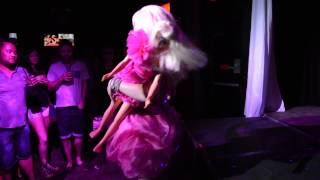Trixie Mattel performing Aqua at Drag Carnage on 9/12/13