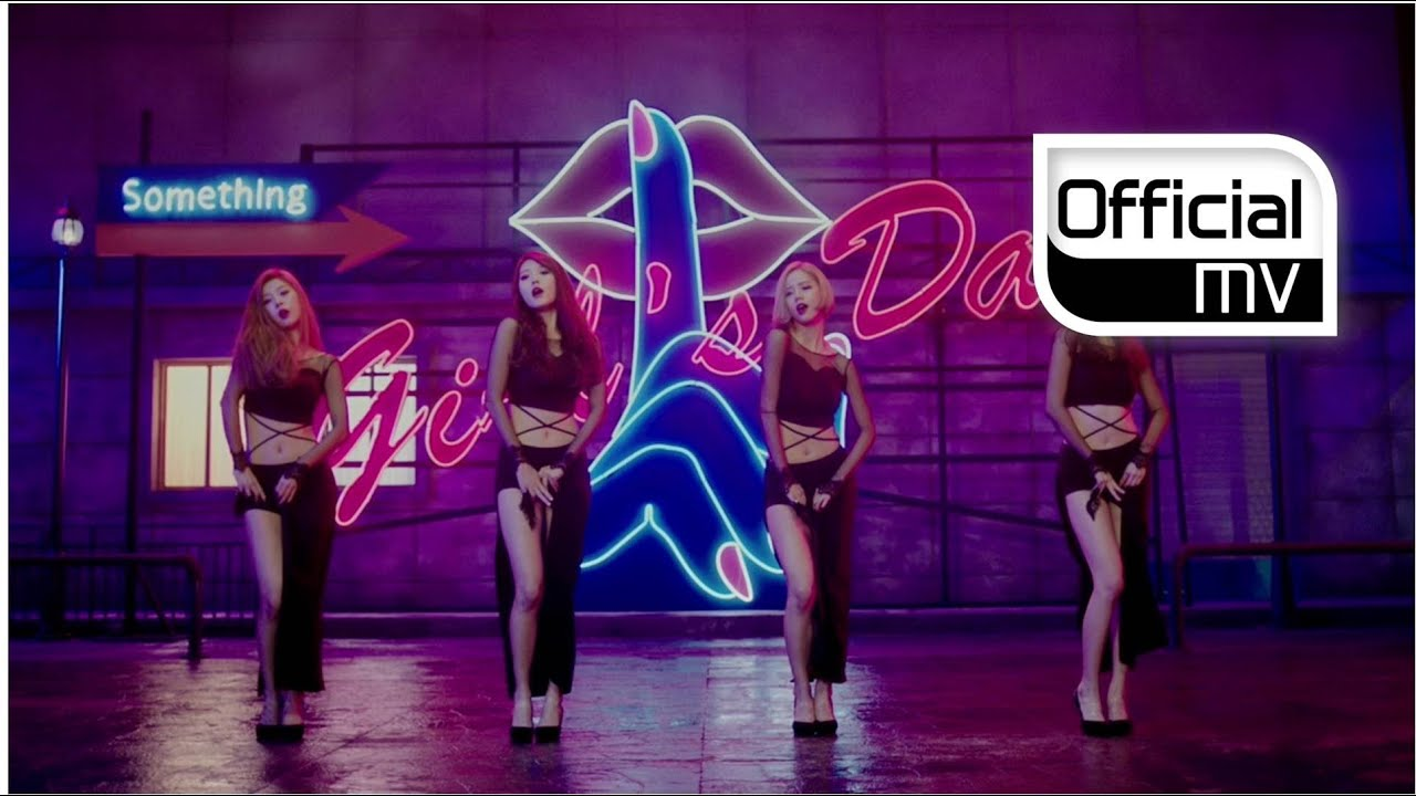 mv girl s day 걸스데이 something 썸씽 youtube
