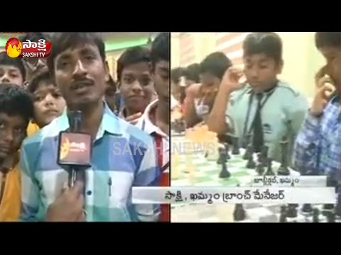 Sakshi Arena One Under School Chess Competitions In Khammam