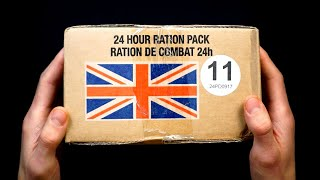 ASMR British Military MRE (no talking)