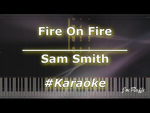 Sam Smith  - Fire On Fire KaraokePianoTutorialInstrumental