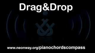Piano Chords Compass Drag&Drop