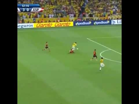 Pique's dirty slide tackle