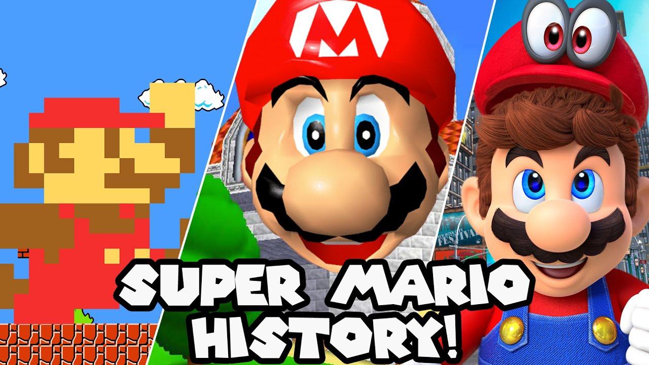 History of Super Mario (1985 - 2020)