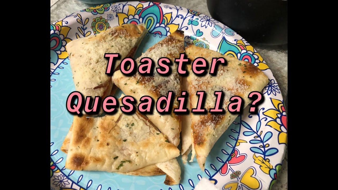 Download Viral TikTok Toaster quesadillas (Pizza Quesadillas)