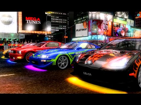 R-Tuned: Ultimate Street Racing (2008) ALL CITIES (60 FPS) SEGA Lindbergh ARCADE Hardware