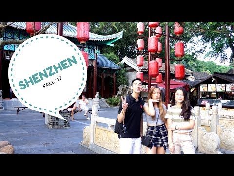 SHENZHEN | FALL '17 | TRAVEL VLOG