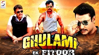 """Watch this bollywood hindi action movie """"ghulami ka fitoor """" (dubbed from super-hit south film) starring darshan, chitra shenoy director: ramesh kitti music:..."""