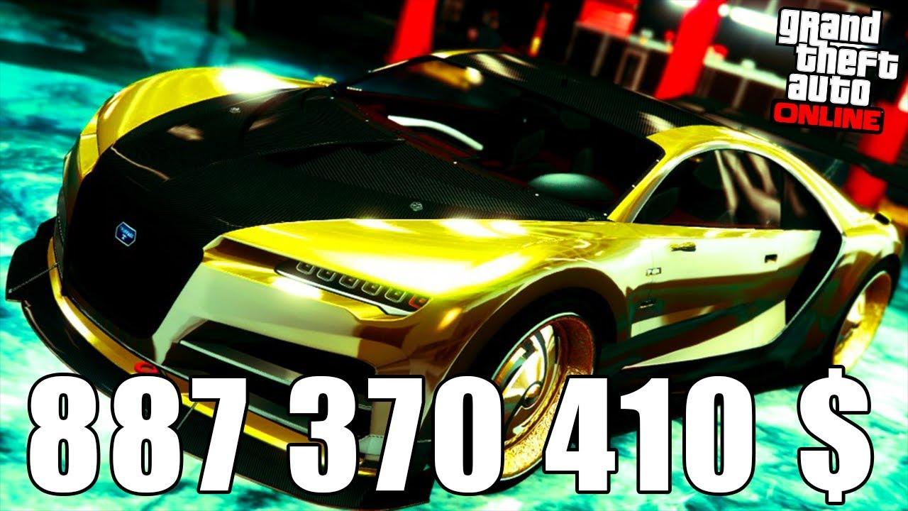 900 000 000 $ : ACHETER TOUT GTA 5 AVEC UN COMPTE VIDE (plus de 8000 €)