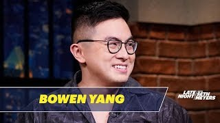 Bowen Yang's High School Classmates Predicted He Would Be on SNL