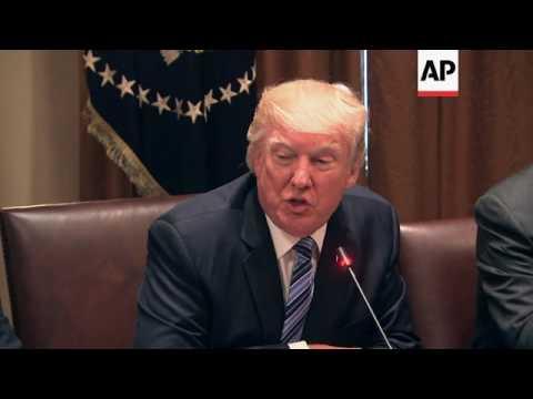 Trump Raises Trade Concerns in South Korea Talks