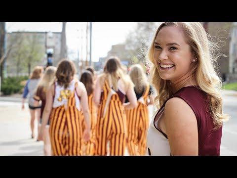 University of Minnesota Alpha Omicron Pi - Recruitment Video 2017