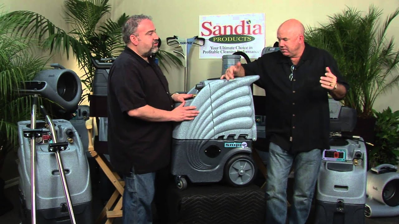 Sandia Products 6 Gallon Sniper Carpet Extractor