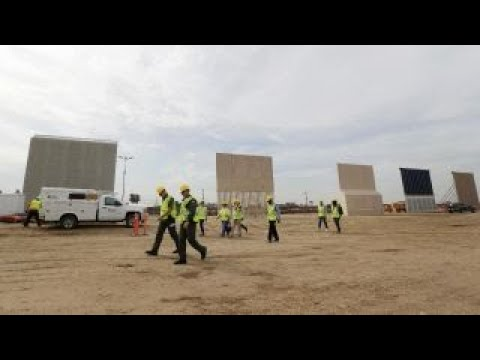 Constructing Trump's border wall