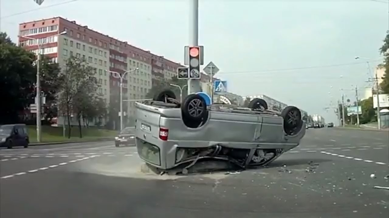 Driving on Russian Roads 2019
