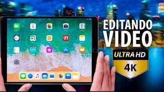 Editando vídeo 4K en el iPad Pro