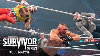 FULL MATCH - Brock Lesnar vs. Rey Mysterio - WWE Title No Holds Barred Match: Survivor Series 2019