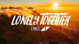 Avicii - Lonely Together ft. Rita Ora (Lyrics / Lyric Video) (cover by Jasmine Thompson)