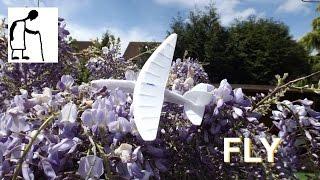 Styrofoam plate rim plane Number #2 Part #2 The Flights