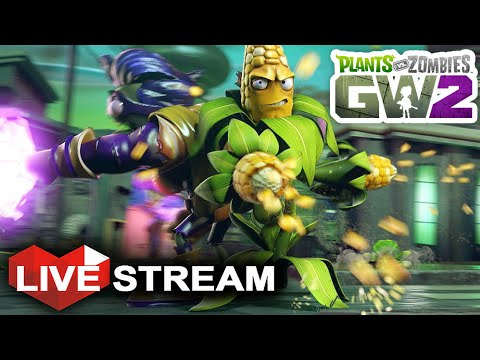 Plants vs Zombies: Garden Warfare 2 Multiplayer | All Characters ...