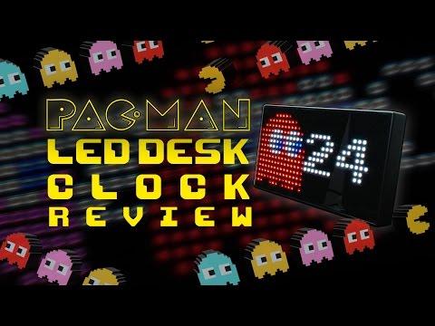 Pac-Man LED Desk Clock Review
