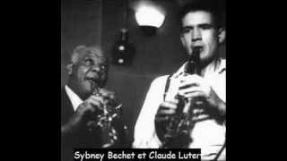 Sidney Bechet and Claude Luter - Society Blues - Paris, 1952