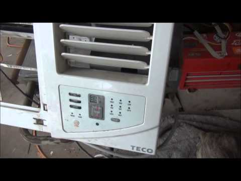 teco la1204h air conditioner repair youtube rh youtube com teco air conditioner brochure teco air conditioning manual