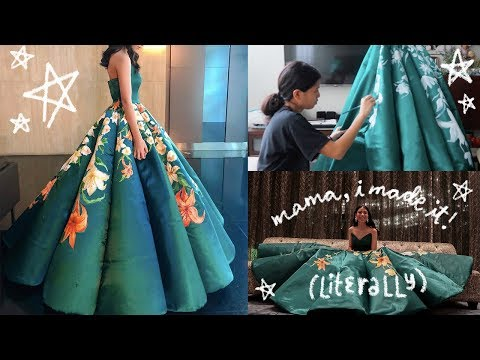 i-made-&-painted-my-senior-prom-dress-|-ciara-gan