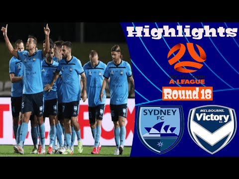 Sydney Melbourne Victory Goals And Highlights