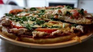 Пицца без дрожжей!!! Ну, оооочень вкусная) Пальчики оближешь/Pizza without yeast!