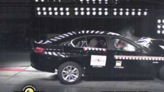 All new BMW 5 Series Crash Test Euro Ncap 2010