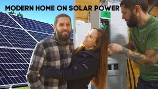 Couple Builds Solar Power System