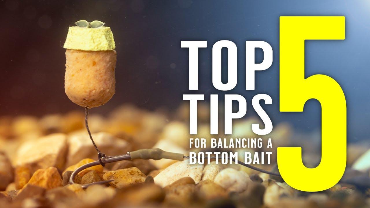 TOP 5 TIPS FOR BALANCING A BOTTOM BAIT (including carp rig tutorial!) Mainline Baits Carp Fishing TV