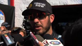 Martin Truex Jr. Eliminated from the Chase at Talladega - 2016 NASCAR Sprint Cup