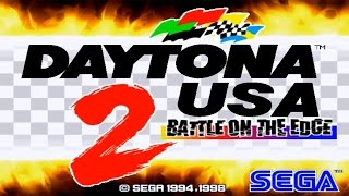 Arcade gameplay - Daytona USA 2: Battle on the Edge