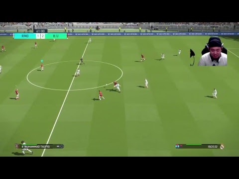 BALI UNITED VS REAL MADRID (FIFA CLUB WORLD CUP 2018 )-#Pes2018 Ps4