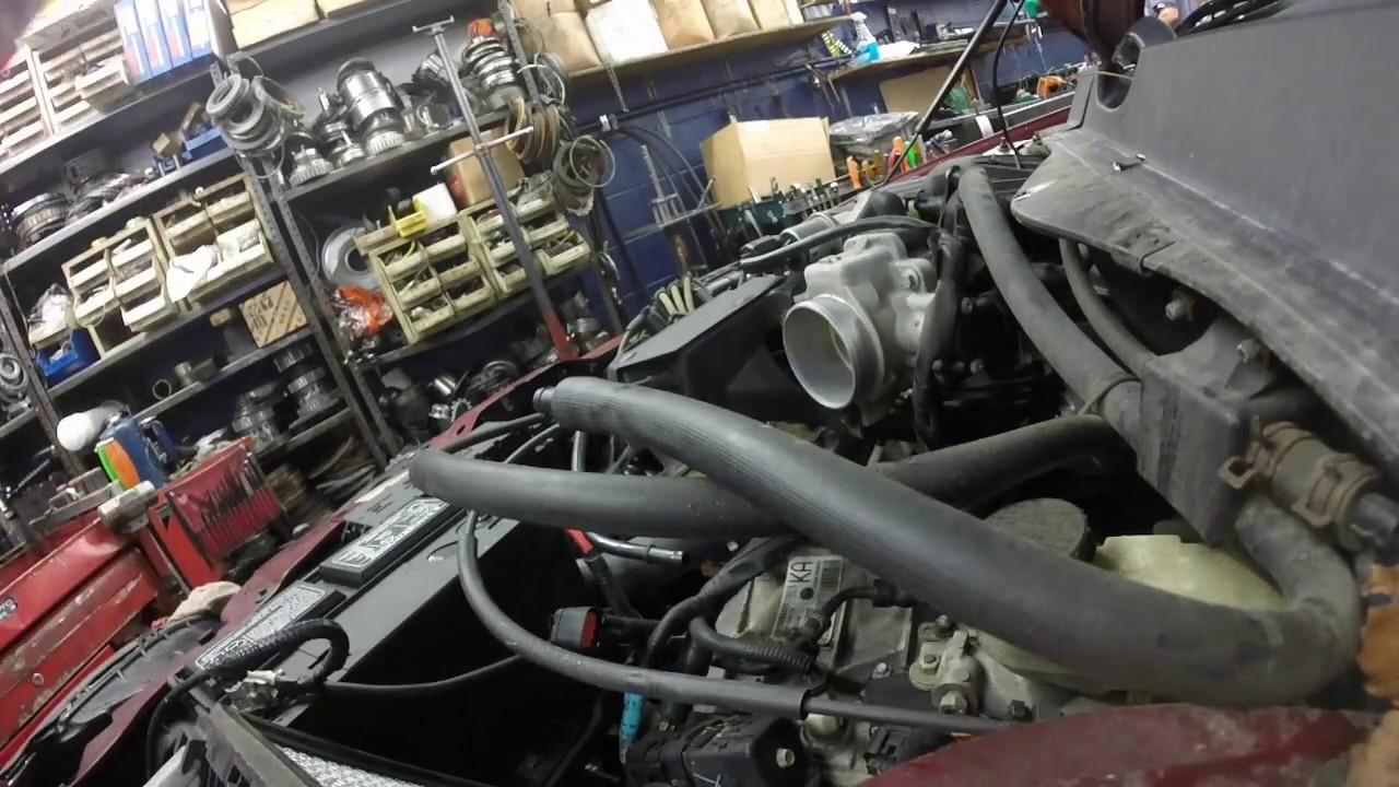 Ford Taurus Ax4n Transmission Removal