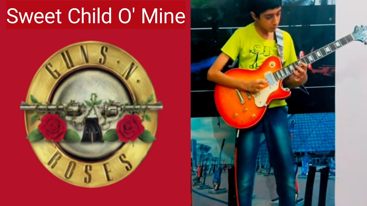 Sweet Child O' Mine - Guns N' Roses | Guitar Cover by Akshin