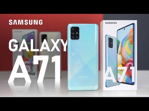 Распаковка Samsung Galaxy A71 / СРАВНЕНИЕ с Xiaomi Mi Note 10 и Galaxy A51 / ОБЗОР Галакси А71