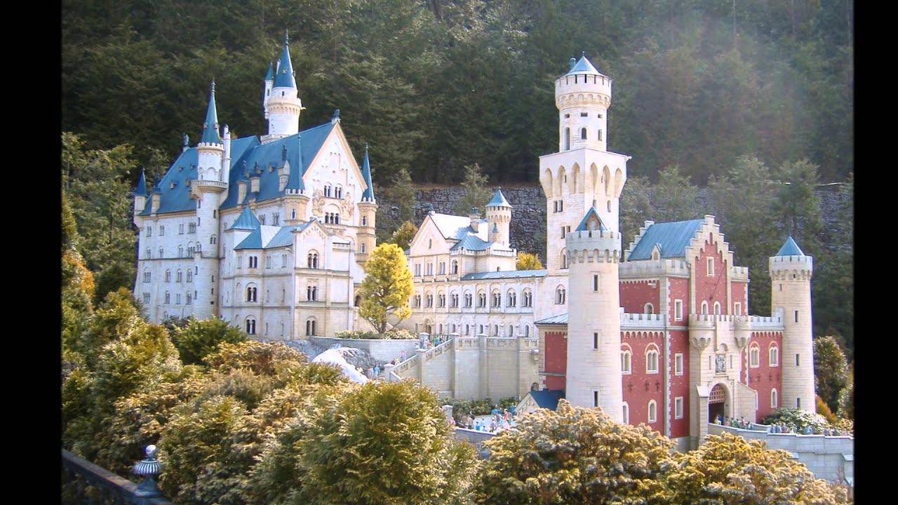 Neuschwanstein Marsch German Castle In Bavaria Walt Disney Style