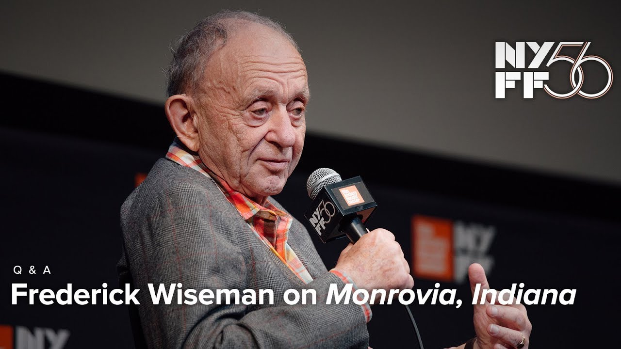 'Monrovia, Indiana' Q&A | Frederick Wiseman | NYFF56