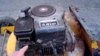 moteur briggs stratton 70s 80s. sortie de grange