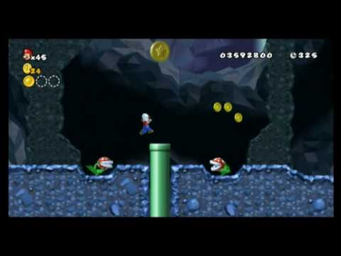 New Super Mario Bros Wii Star Coin Location Guide World 6 2
